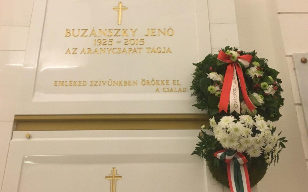 Alapítónk halálának 3. évfordulójára emlékezünk