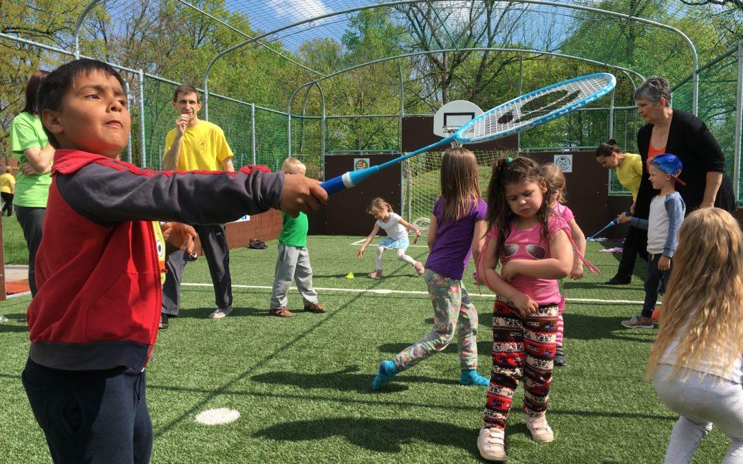 Újabb sportág oktatása kezdődött meg az Ovi-Sport Program keretein belül!