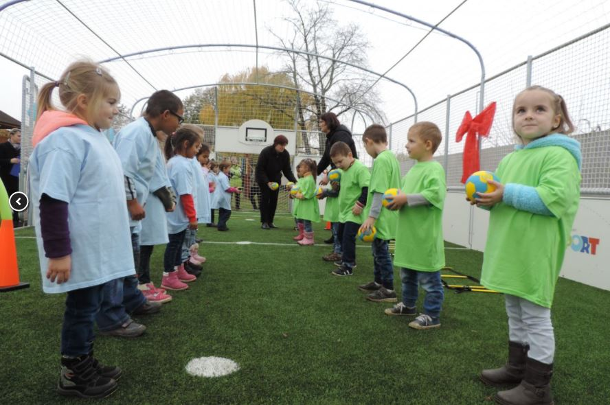 Már Ramocsaházán is Ovi-Sport Pályán játszhatnak a gyermekek