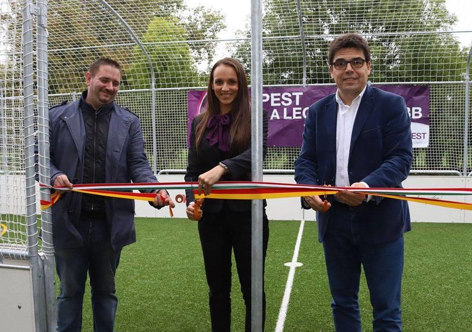 A Legsportosabb Városban avattunk Ovi-Sport Pályát!