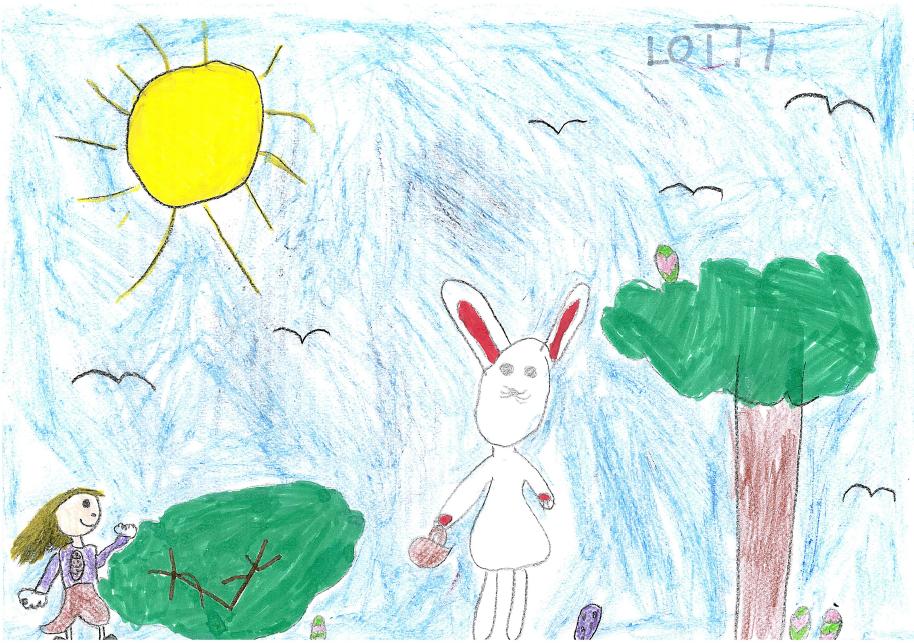 Megvan a húsvéti rajzpályázat győztese!
